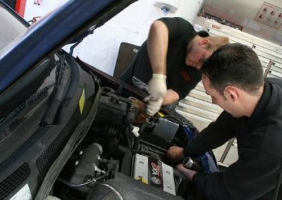 servicing at Griffin Autos